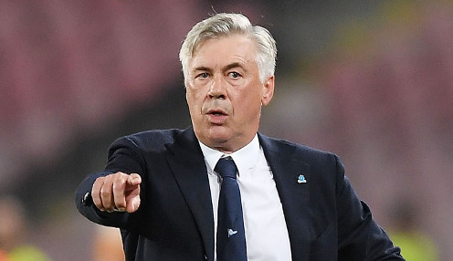 Top four target for Ancelotti